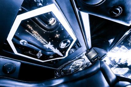 Luksusowe wnętrze naszych limuzyn