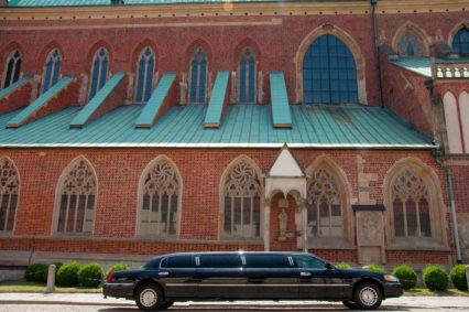 Katedra na Wrocławskim Ostrowie Tumskim oraz nasza limuzyna