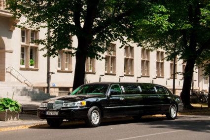 Zaparkowaliśmy czarną limuzyną przed budynkiem głównym Politechniki Wrocławskiej